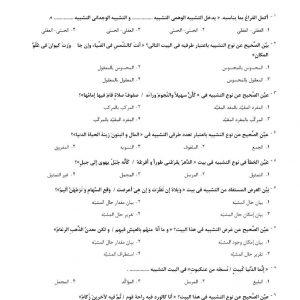 سوالات استخدامی ادبیات عرب