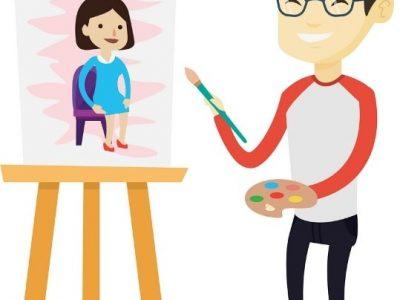 معرفی شغل نقاش